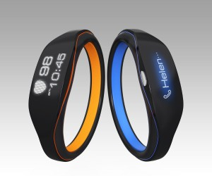 Fitness Band Wireless Charging