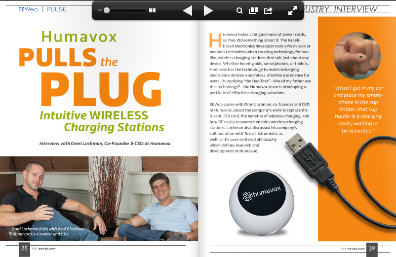EEWeb- Humavox Pulls the Plug