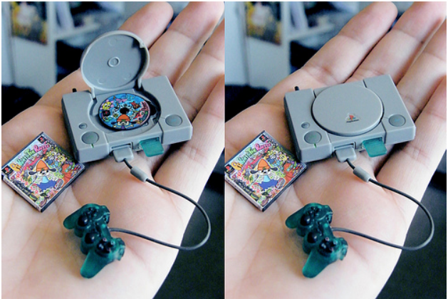Minature Playstation