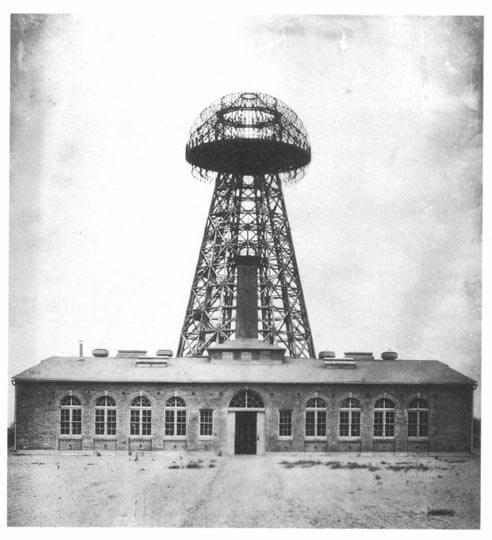Wireless Charging History: Tesla Broadcast Tower