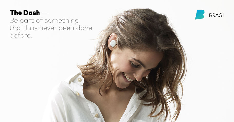 Smart Wireless Earbuds - Bragi