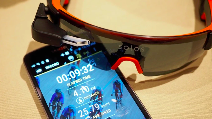 Solos – AR glasses for cyclists