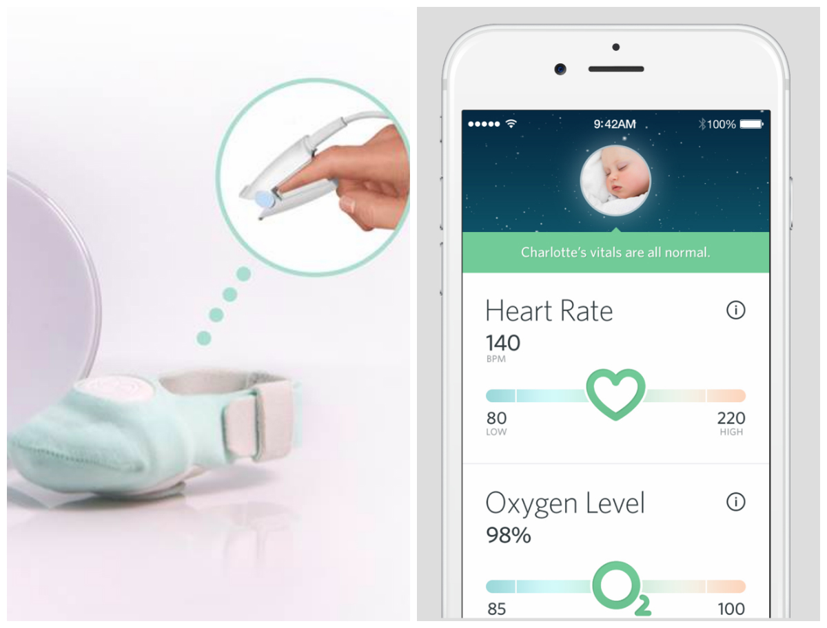 Owlet Wearable & Smartphone App