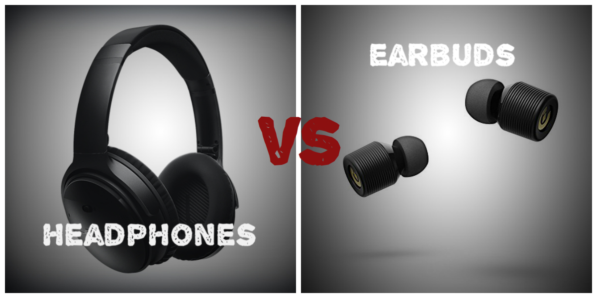 Difference Between Earphones vs Headphones