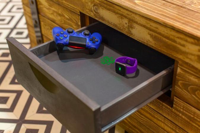 wireless charging drawer