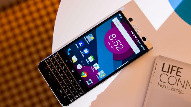 BlackBerry Mercury at MWC 2017