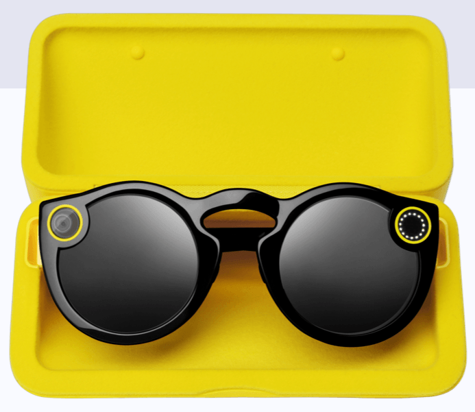Snap glasses & wireless charging