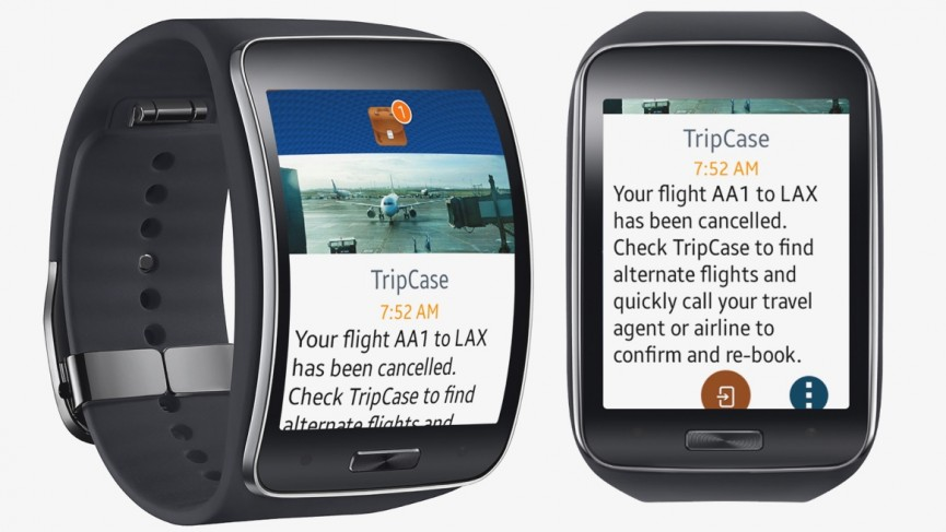 smartwatch and travel