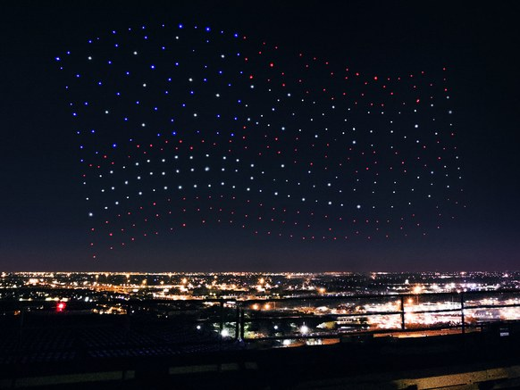 Drone display